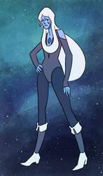Blue Diamond by sparkyrabbit