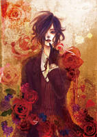Red rose by azsan