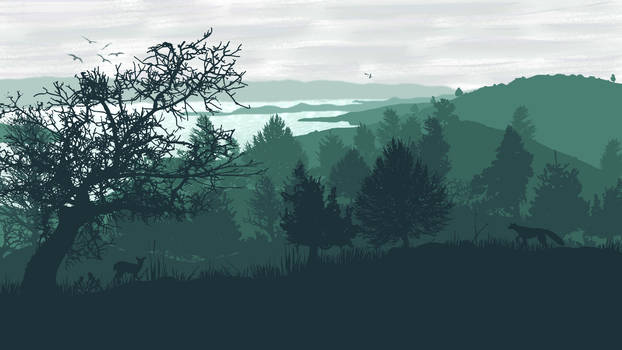 The Baikal Shore by Aquelion