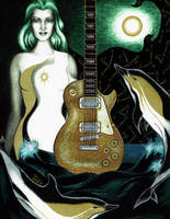 Golden Guitar by Yolte