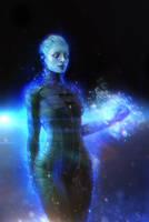 Morinth (Mass Effect) by SallibyG-Ray