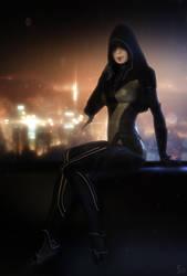 Kasumi (Mass Effect) by SallibyG-Ray