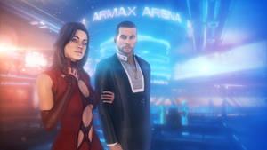 Date (Mass Effect) by SallibyG-Ray