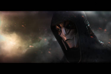 Stranger (Mass Effect) by SallibyG-Ray