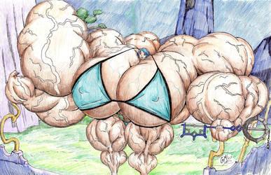 Super Huge Aqua by GrandMasterLucilious