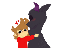 Tord and TomMonster [Eddsworld] by amyszek