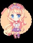 SkittleBittle Page Doll by StarlightCrystalz