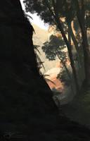 Near the cascades by JamesCombridge