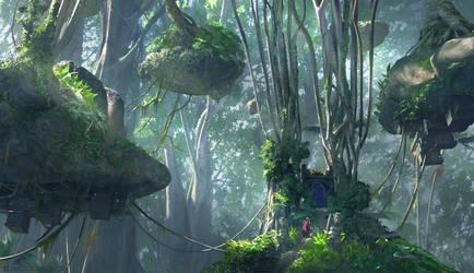 Jungle Gateway by JamesCombridge