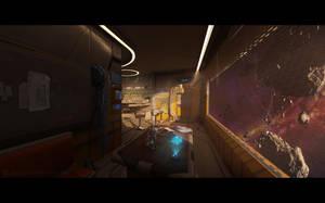 Mining colony apartment by JamesCombridge