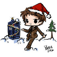 A Doctor Who Christmas by Naeru