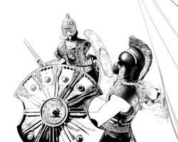 Helen of Troy process 8 by PENICKart