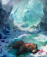 Cold death by lhebrardrobin