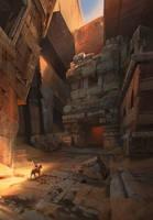Sand temple by lhebrardrobin