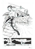SNEAK PREVIEW - Punk Rock Dragonslayer P2 by antacidimages
