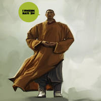 Monk Advise by Leifheanzo