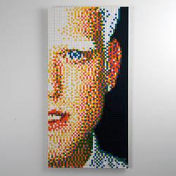 PENTATONIX LEGO 1 of 5 Scott Hoying by ChadRossArtwork