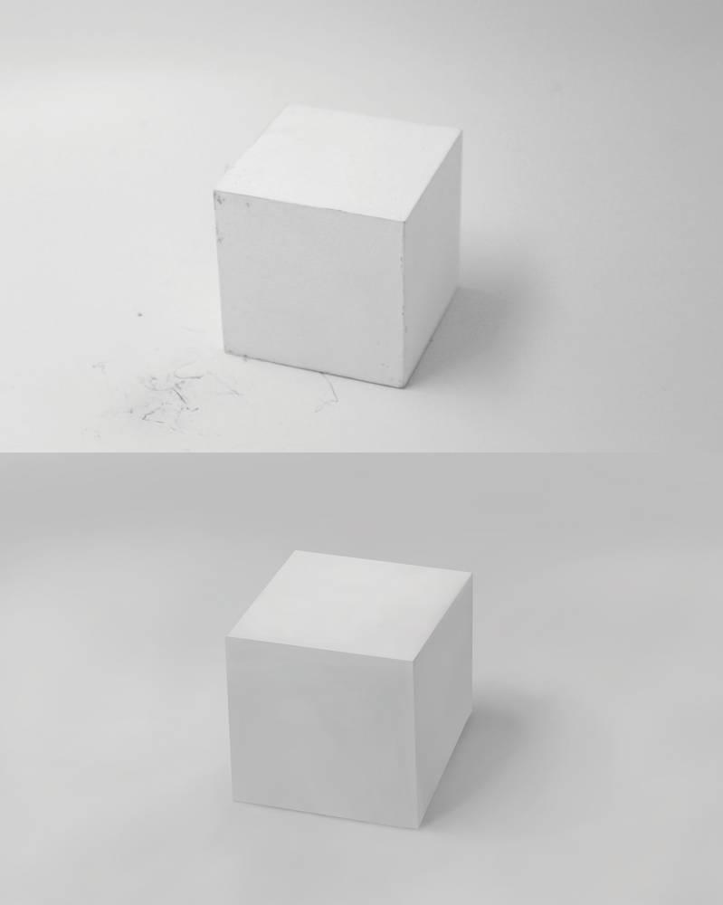 Cube - Digital Study 1 by TearsOfColour