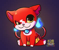 Jibanyan by CarbonCoal