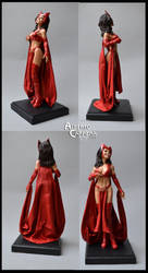 Scarlet Witch  (ooak figure) by AlbertoCarrera