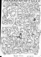 [M.I]  Doodle art Metropole Illumis  // EDIT by Mera-Ury