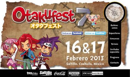 Otakufest7 homepage by LuisArriola