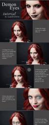 Demon Eyes Ps Tutorial by LadyEvilArts
