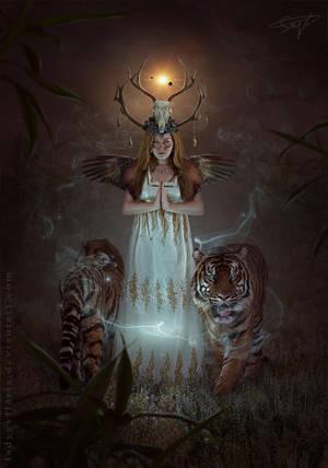 Spirit Master by LadyEvilArts