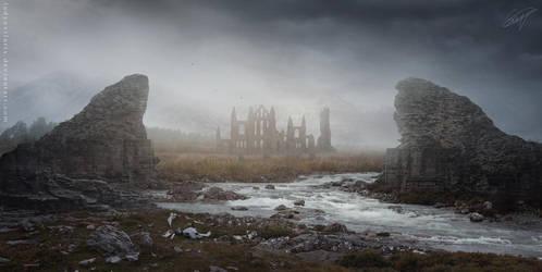 Remains by LadyEvilArts