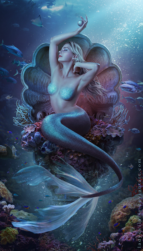 Pearl Of The Deepest Sea by LadyEvilArts