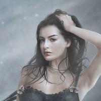 Black Queen Closeup by DeadInTheAttic
