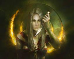 Thanaea by DeadInTheAttic