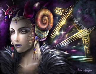 Sorceress Edea by lyxia