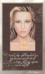 Queen Auren - Portrait by lyxia