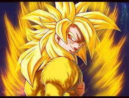 Goku Ssj Dorado by NARUTO999-BY-ROKER