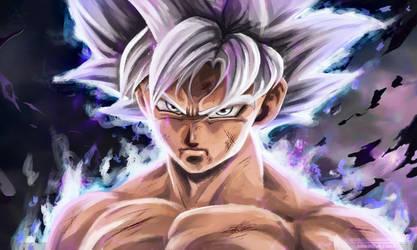 Goku Ultra Instinto by NARUTO999-BY-ROKER