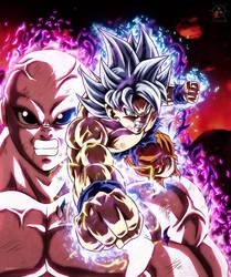 Goku vs Giren Batalla Final by NARUTO999-BY-ROKER