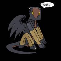 Dark Dragon minecraft style by Anhrak