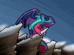 Dragon Chameleon by Anhrak