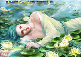 laying in the lotus by firebolide