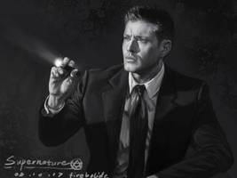 Dean in supernatural 405 by firebolide