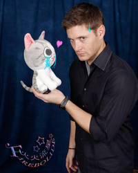 My photo op with Jensen by firebolide