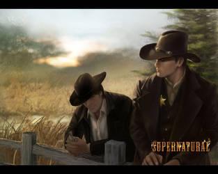 cowboy dean sam by firebolide