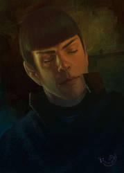 Spock by firebolide