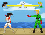 TF TG Contest: Street Fighter Rule 63 by Cartoonfan402