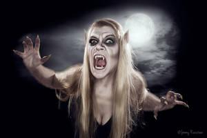 Werewolf Woman - Second date by jrunsteen