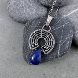 Amade Wrapped Little Lapi-lazuli Necklace by ggagatka