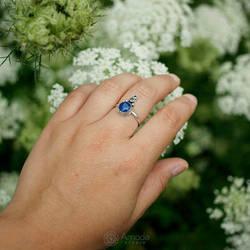 Amade Oriental Blue Ring by ggagatka