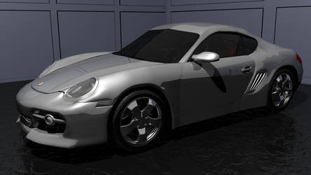 porsche silver color by urbine88