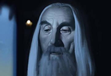 Saruman Study by Thorsten-Denk
